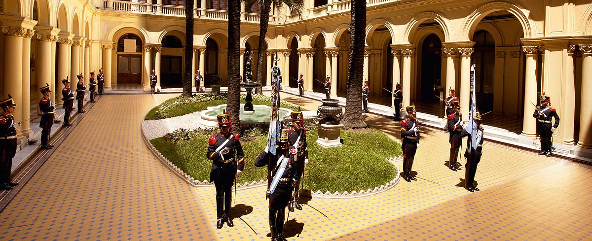 Casa Rosada Patio - MABA Blog