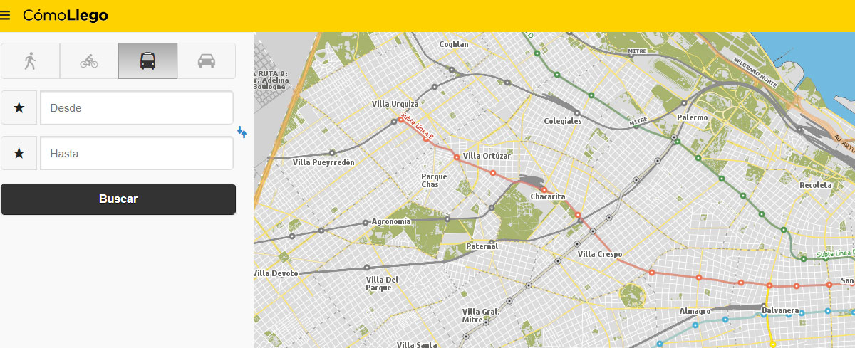 La Subway Map Year.Getting Around Official English Website For The City Of Buenos Aires
