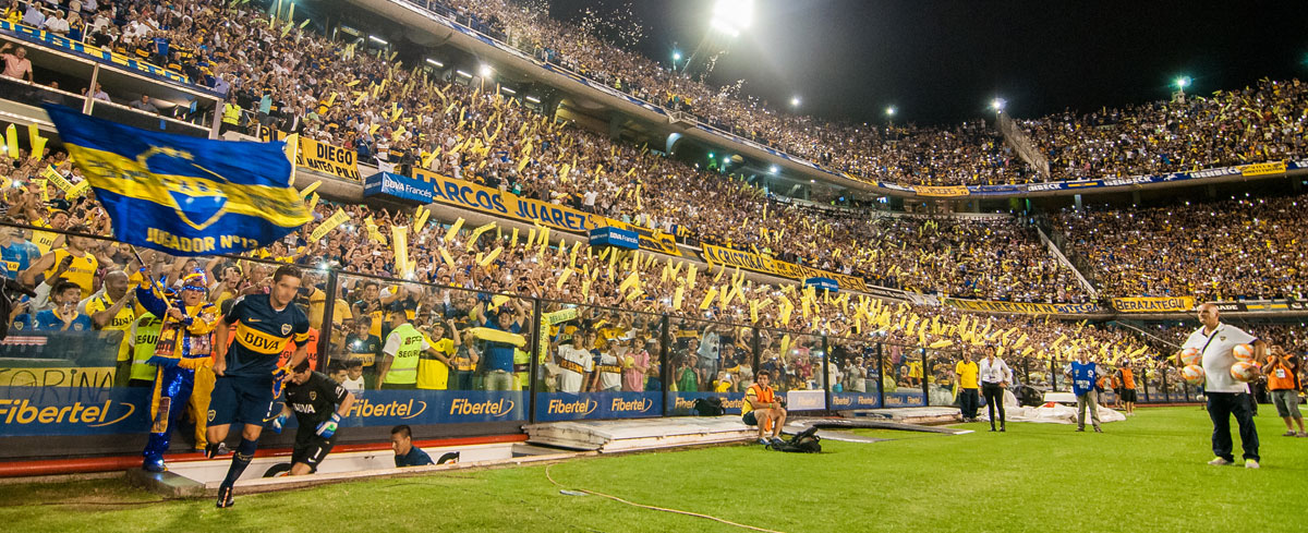 "Boca Juniors' ""Bombonera"" Stadium"