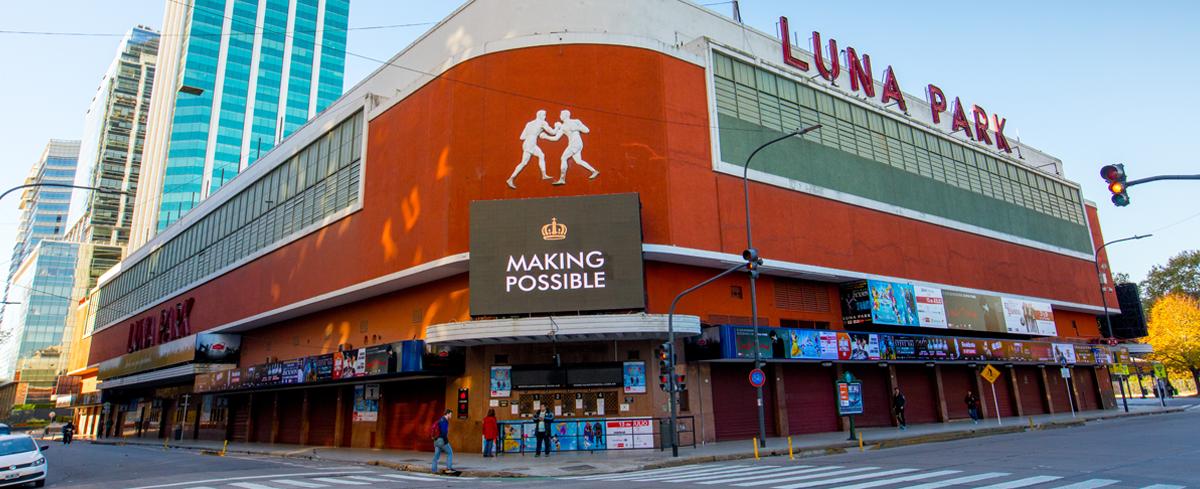 Resultado de imagen para estadio luna park argentina