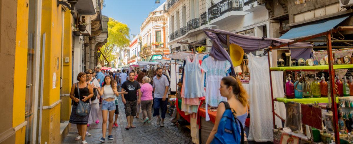 Plaza Dorrego Sitio Oficial De Turismo De La Ciudad De