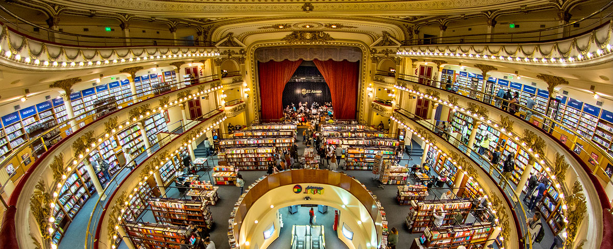 El Ateneo Grand Splendid | Official English Website for the City of Buenos  Aires