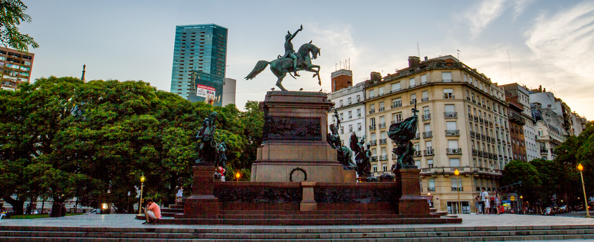 Image result for Don Jose de San Martin statue buenos aires