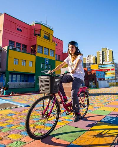 Bicycle tour La Boca