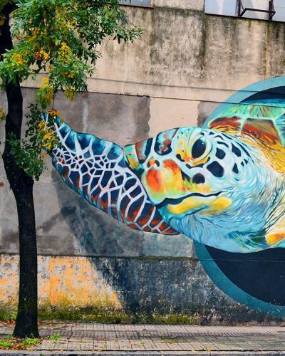 Arte urbano en Barracas